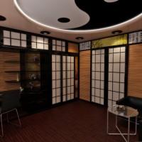 Гостинная в японском стиле