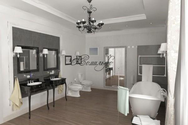 Интерьеры ванной комнаты