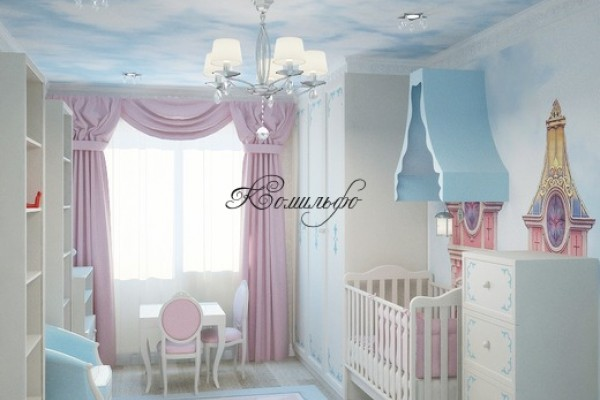 Интерьеры детской комнаты