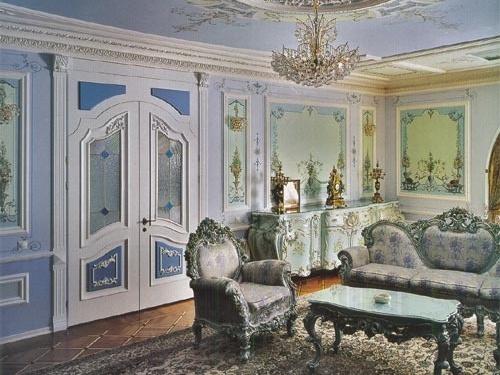 Интерьер в стиле классицизма
